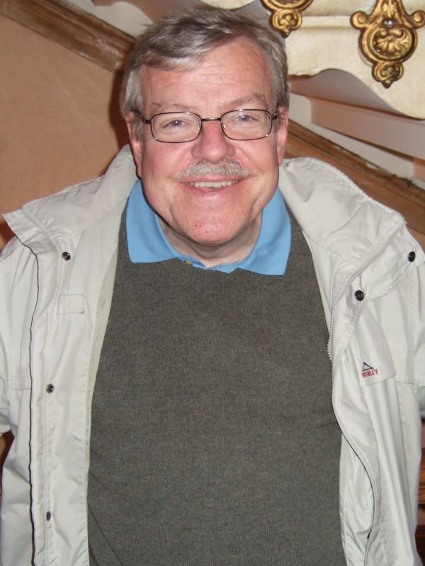 Professor Olle Johansson in happier times